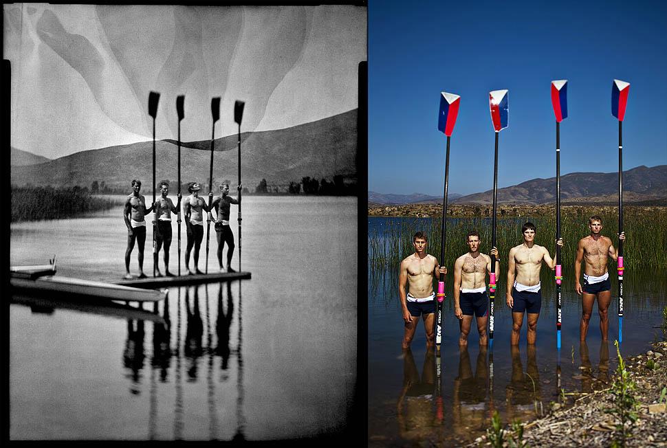 2012 Olympians: Scott Gault, Charlie Cole Henrik Rummel, Glen Ochal
