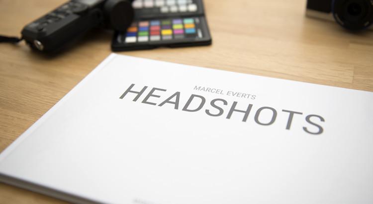Fotoboek Headshots Marcel Everts Saal Digital